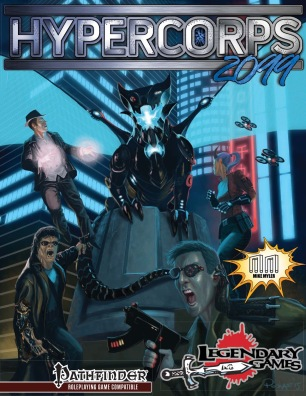 Hypercorps 2099 Cover