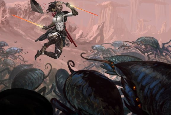 Numenera Destiny - Fighting a Horde